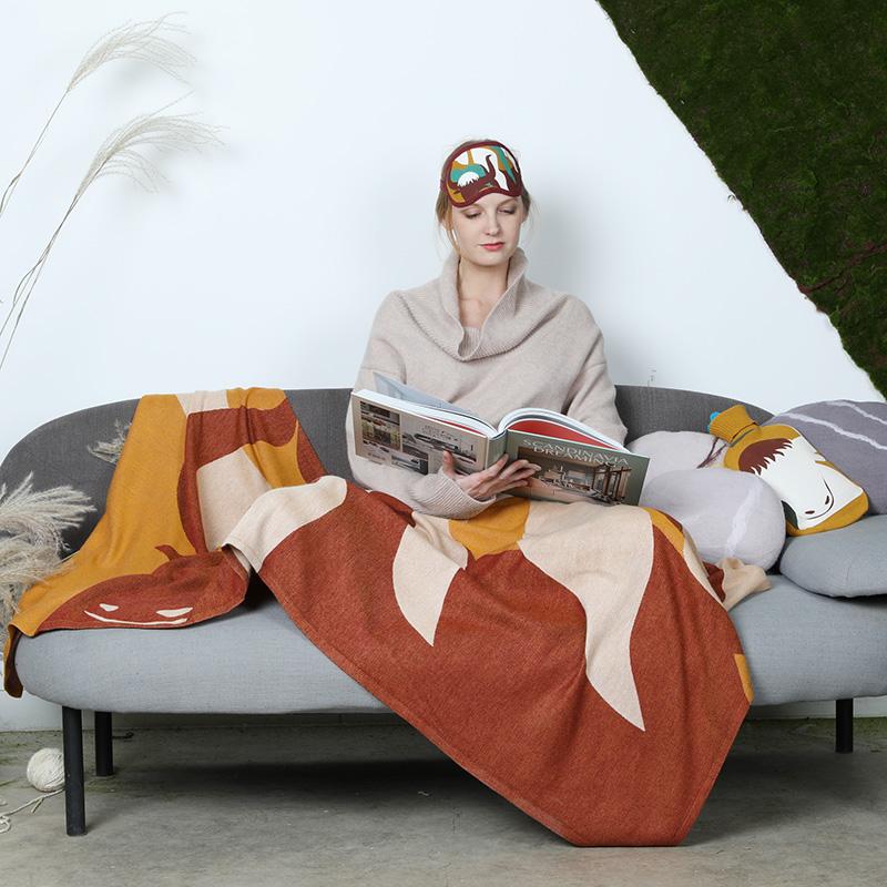 玉树印象系列 - 奔腾牦牛旅行毯