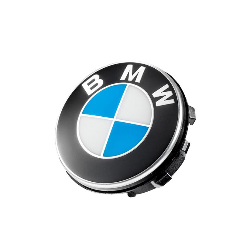 BMW悬浮式轮毂车标
